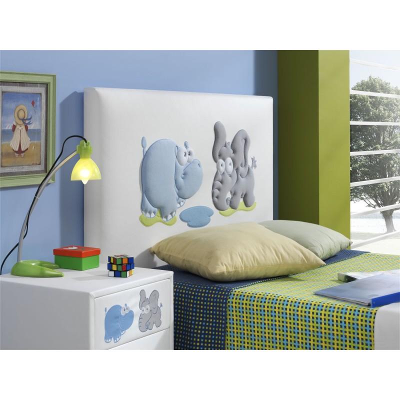 Cabecero para cama infantil modelo jungla - Cabecero cama infantil ...