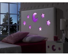 Luna y Estrellas luz