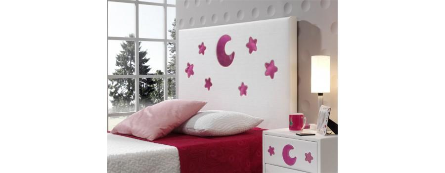 Cabeceros de cama infantiles con luz interior ambiente10 - Cabeceros con luz ...